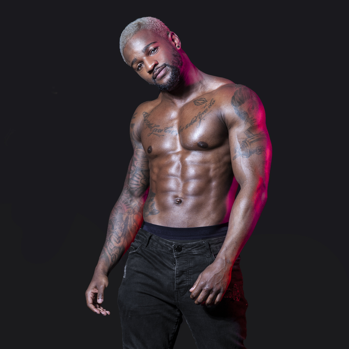male strippers from the Dreamboys male strip club | Jovan