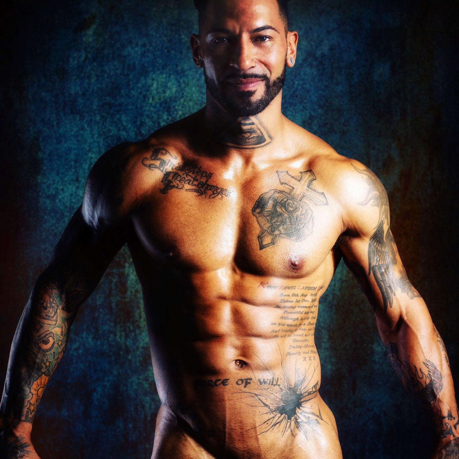 male strippers from the Dreamboys male strip club | Leo