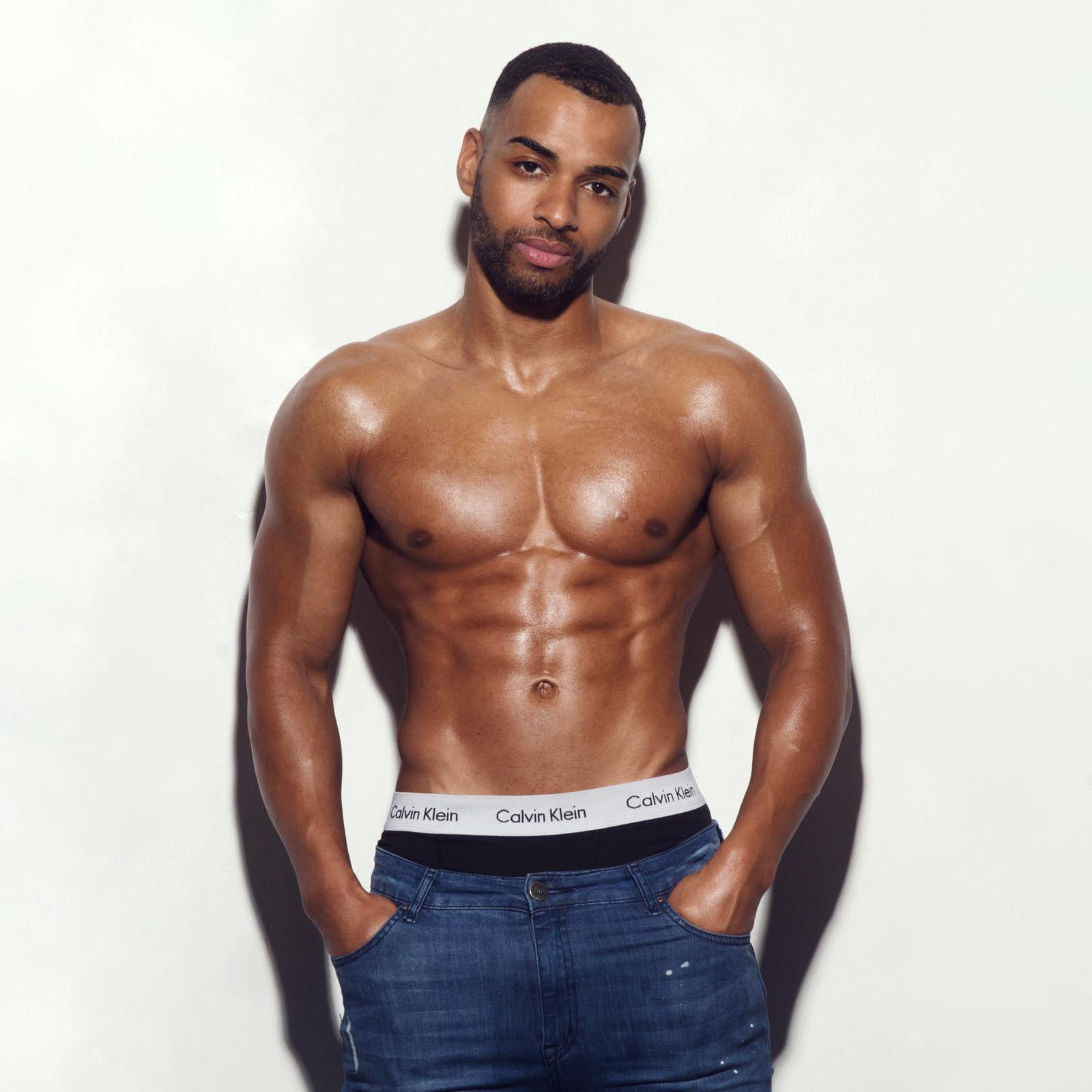 male strippers from the Dreamboys male strip club | Mikey