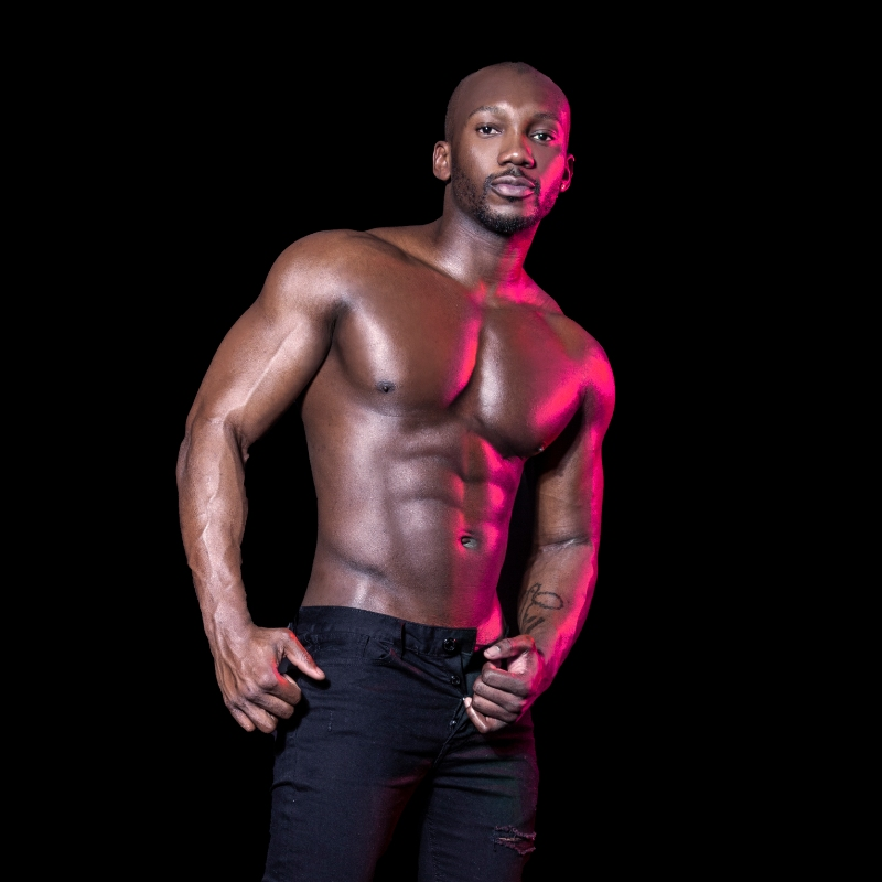 male strippers from the Dreamboys male strip club | Victor