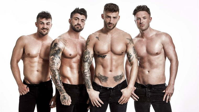 Male Strippers | Jake Quickenden Joins The Dreamboys