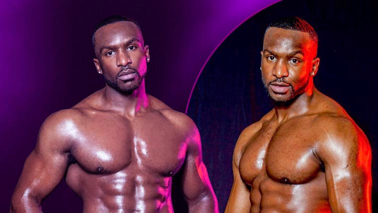male strip show blog | Dreamboys Tour: Who is Pjay Finch?