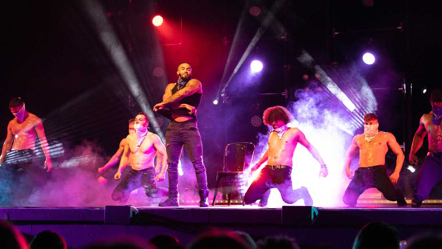 male strip show blog | A Day in the Life of The Dreamboys Tour