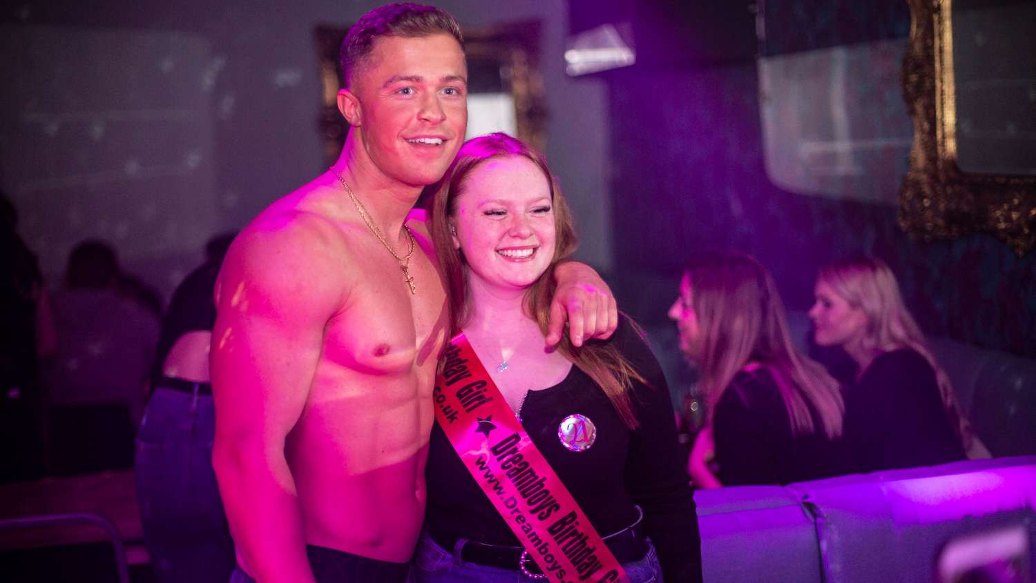 male strip show in Liverpool